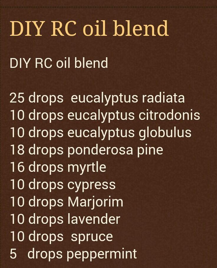 diy r c essential oil blend - Google Search