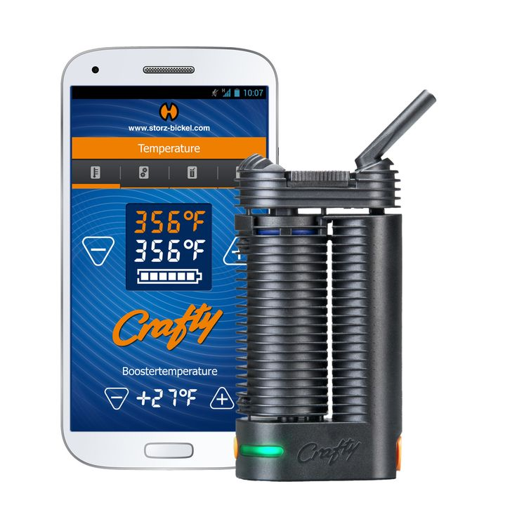 """The Crafty Vaporizer is a small yet highly effective vaporizer that can be discreetly used or easily concealed in public places. Despite weighing only 0.3 lbs and sitting at only 4.3"""" inches, this uniquely designed device is one of the highest quality vaporizers on the market to date."""