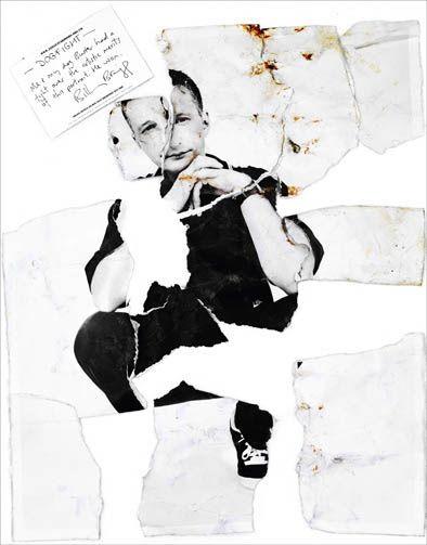 """Billy Bragg - Rankin """"Destroy"""" Project  -repinned by LA portrait photographer http://LinneaLenkus.com"""