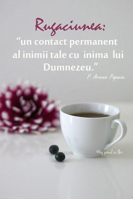 rugaciunea un contact permanent al inimii tale cu inima lui Dumnezeu citat P…