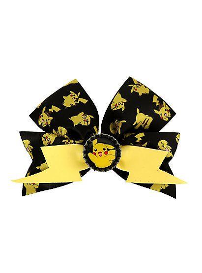 Pokemon Pikachu Cheer Hair BowPokemon Pikachu Cheer Hair Bow,