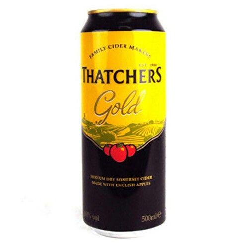 Embalagens Thatchers Gold Crisp Somerset Cider #2000treeskit #2000treats