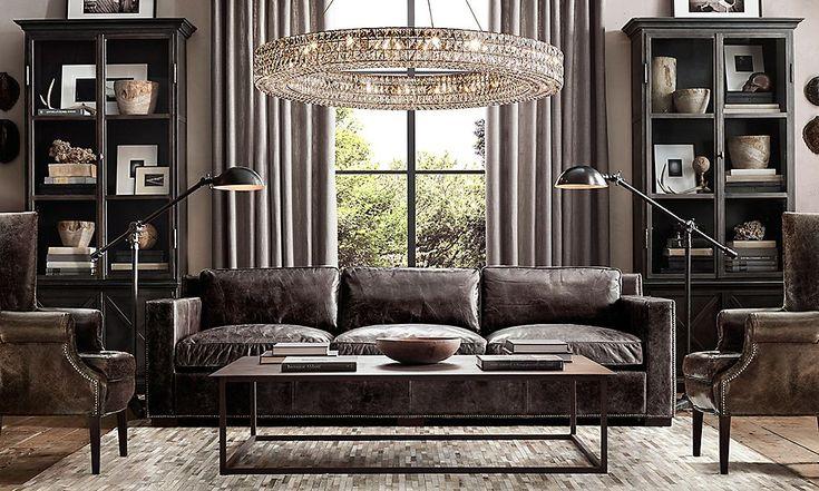 best 25 restoration hardware office ideas on pinterest. Black Bedroom Furniture Sets. Home Design Ideas
