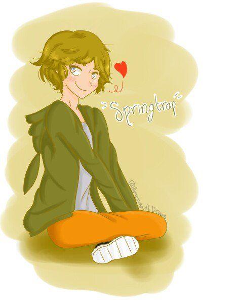 Springtrap otra vez con mucho amor a IrisLisboa