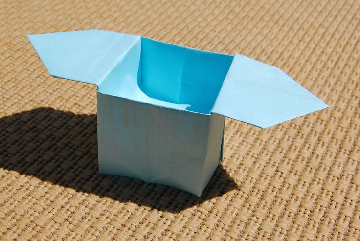 Japanese Offering Box - origami tutorial | Diy ideas ... - photo#1