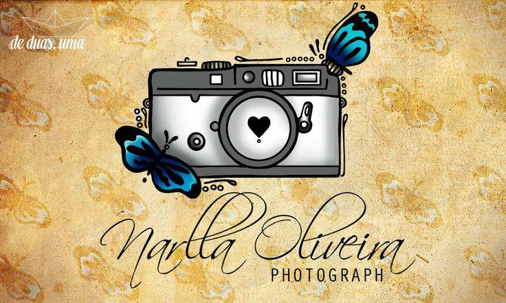 logo fotografia de duas uma - Narlla Oliveira