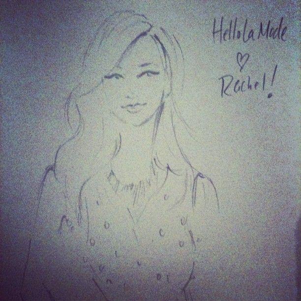 @rachmartino immortalized by @jenniferlilya at #ILOVELAMODE last night