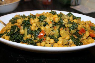 ... Kale, & Mushroom Curry | Eat Humanely | Pinterest | Chickpeas, Kale