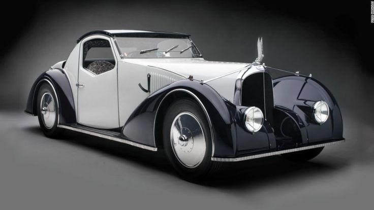 "Gorgeous Art Deco automobile. ""Sculpted in Steel"" exhibit at the Museum of Fine Arts, Houston."