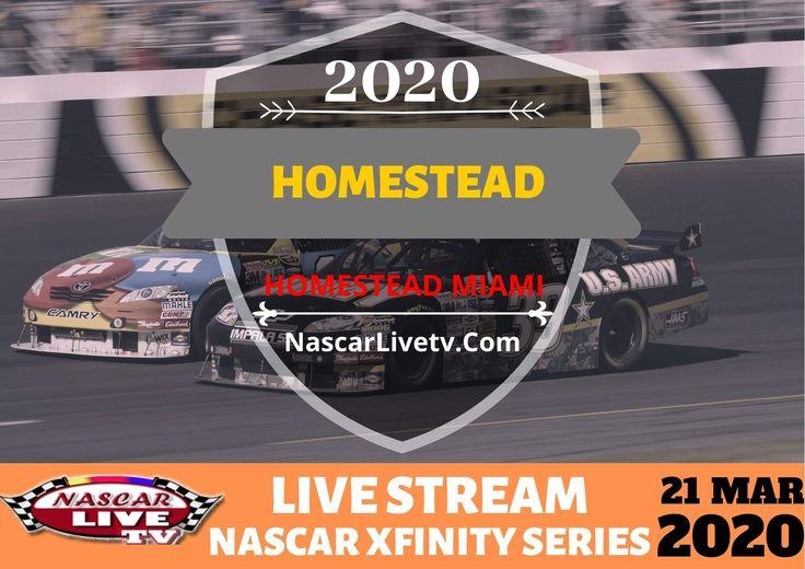 NASCAR Xfinity Series Race At Homestead Live Stream 2020