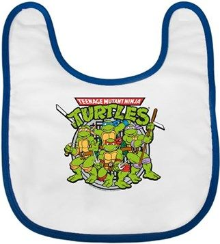 Ninja Kaplumbağalar Kendin Tasarla - Bebek Önlüğü