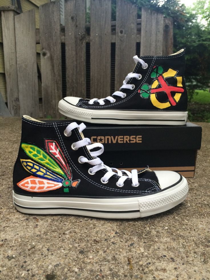 e6ea428305eea2 Chicago Blackhawks Converse