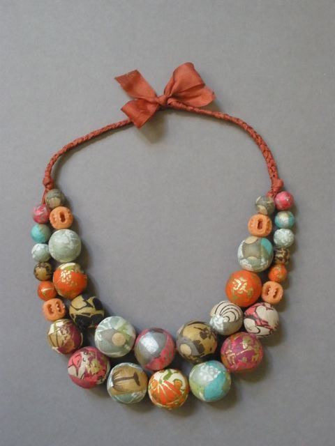 paper beads blogs | Thousand Oaks, California created this woven wonder, accented with ...