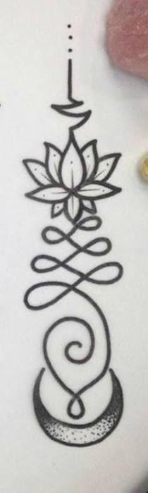 Bildergebnis für unalome flor de lis