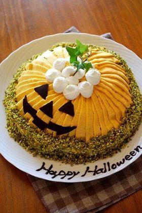 corecle コレクル > あさえもん > ハロウィンかぼちゃのドームケーキ