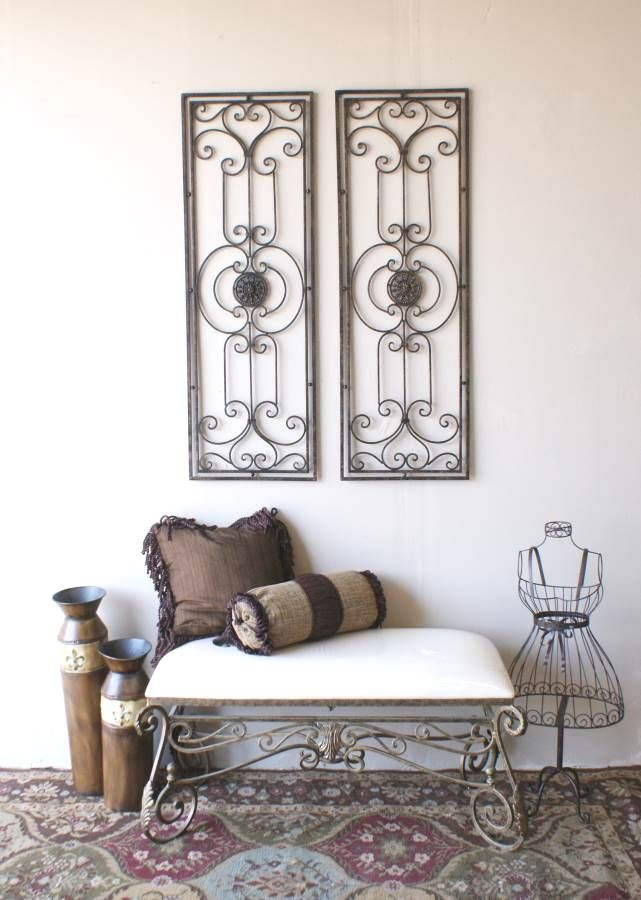 Large Wrought Iron Wall Art best 25+ wrought iron wall art ideas on pinterest | iron wall art