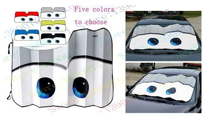 Big Eyes Cars Lightning Front Car Windshield Sun Shade Sunshading SMS - F A S H I O N http://www.sms.hr/products/big-eyes-cars-lightning-front-car-windshield-sun-shade-sunshading/ US $8.85