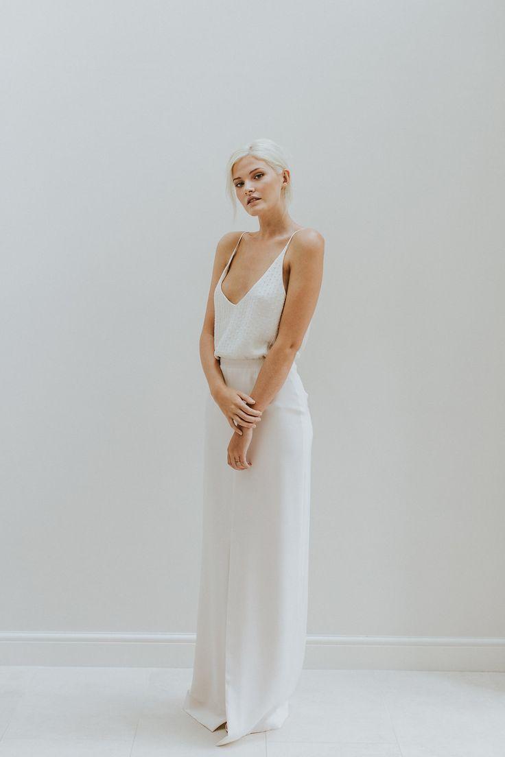 Elegant & Minimal Bridal Gowns by Charlotte Simpson - Wedding Dresses by Charlotte Simpson