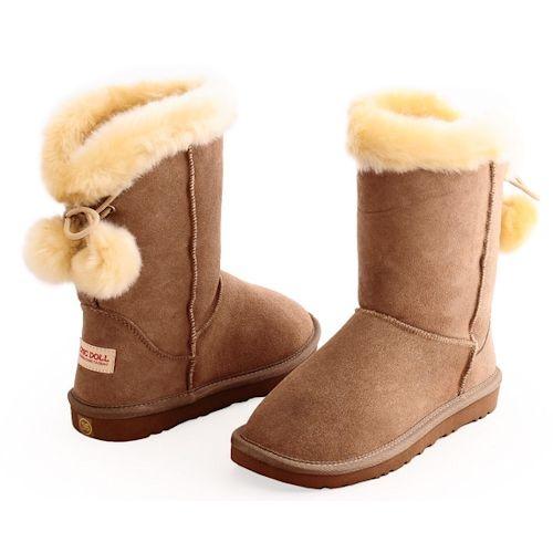 Women's Snow Boots Unique Designed Comfort Winter Boots Cartoon Dinosaur Dino Animal