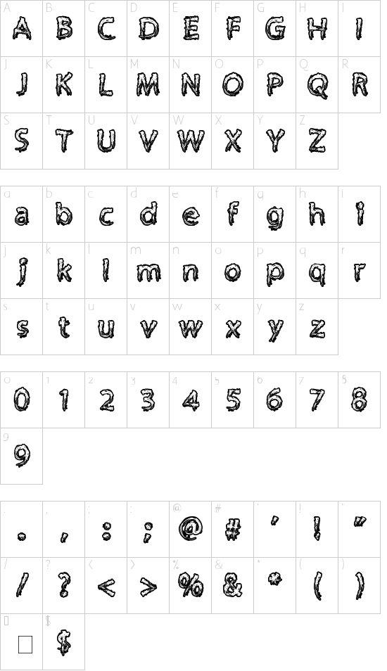 Supercreep Font