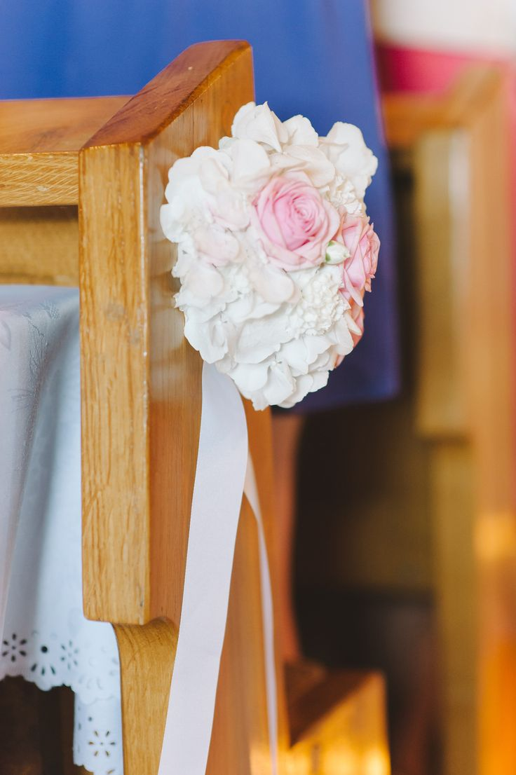 peonies, wedding church decorations