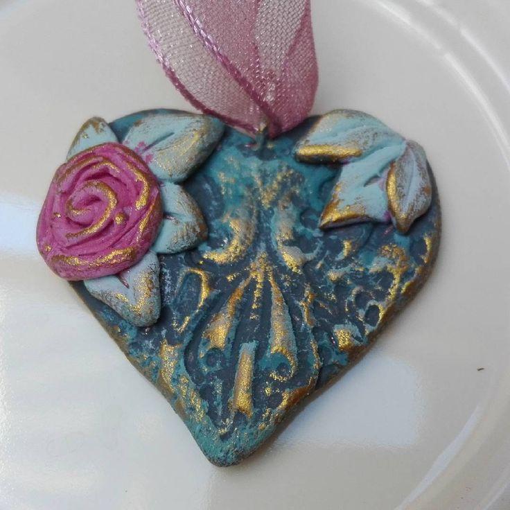 Romantic Rococo Heart Shaped Pendant  #rococo #rococostyle #heart #heartshaped #pendant #necklace #jewelry #baroque #princess #shabbystyle #shabbychic #chic #baroque #baroquechic #baroquestyle #ornate #adornment #thebeautyandthebeast #pastelcolors #chalkpaint #rococochic #ékszer #handmade #instacraft #parischic #pastelprincess #loveshabby #shabbylover
