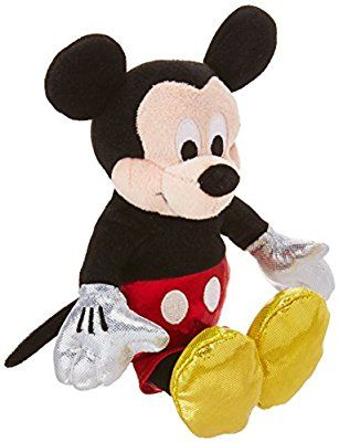 1814974e8d0 Amazon.com  Ty Beanie Babies Mickey Sparkle Plush  Toys   Games ...