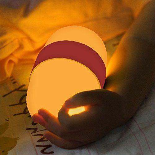 Night Lights for Kids, Baby Nursery Night Light Handheld Sleep Lamp with USB Charging Bedside Lamp,Kids Night Light, Gifts for Kids (Pink)
