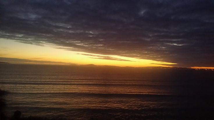 Sunset at Langebaan lagoon.