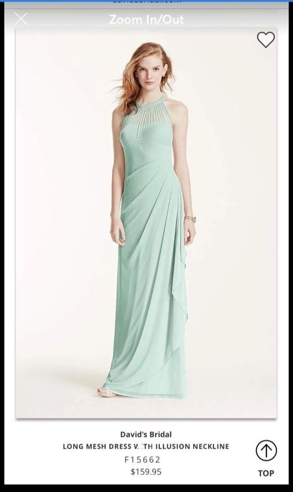 74099590cd48 Davids Bridal Mint green Bridesmaid Dress size #fashion #clothing #shoes  #accessories #womensclothing #dresses (ebay link)