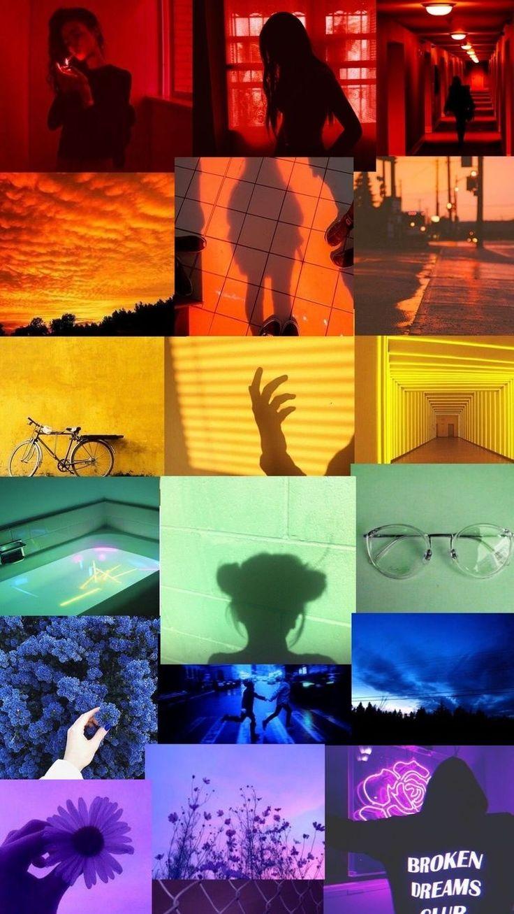 Pin by Fatiمa🌸 on Wallpapers in 2020 | Rainbow wallpaper ...