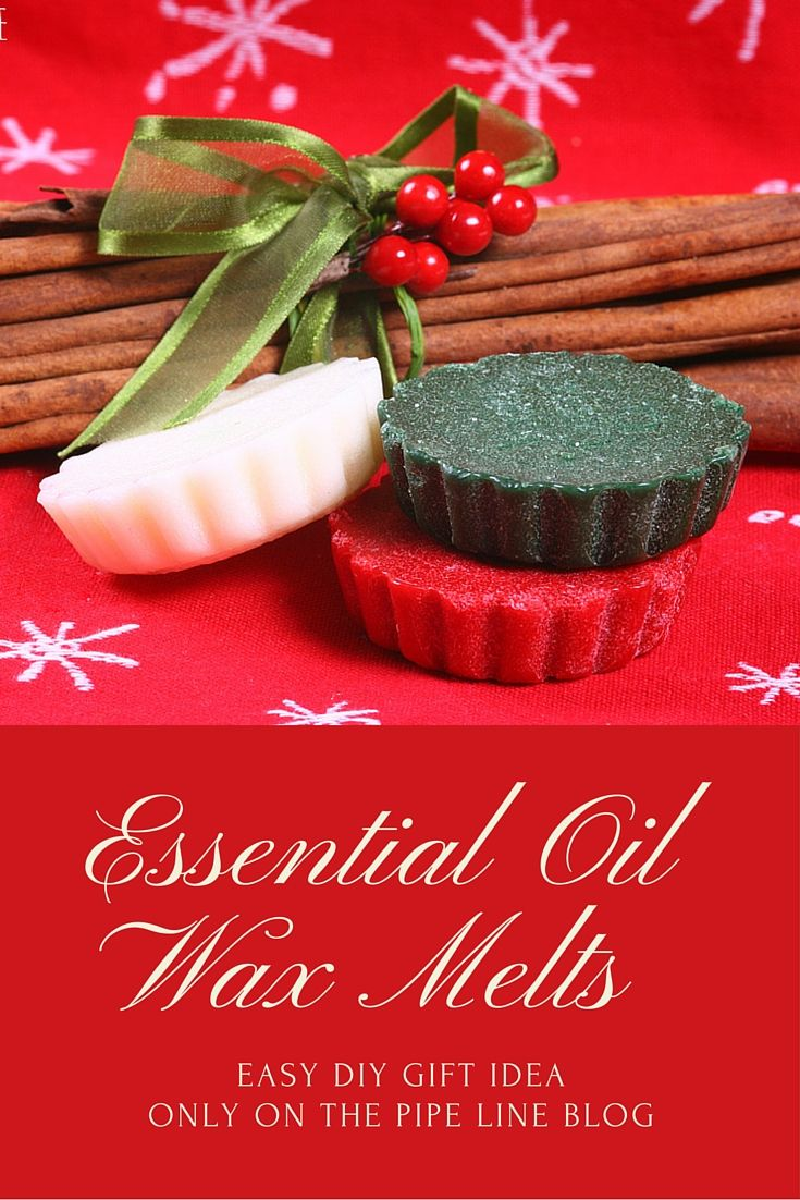 DIY Gift Ideas with Essential Oils - Make your own wax melts for oil warmers!
