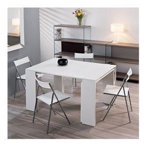 Tavolo Consolle allungabile richiudibile in soli 50 cm apertura max 2,25x90x75mt aperto Leonardo