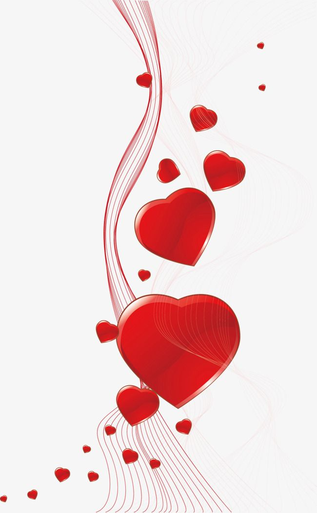 Red Hearts Background Tarjeta Heart Background Red Heart Line Background