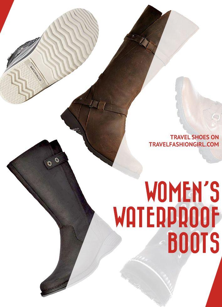 Best Women's Waterproof Boots to Wear for Winter Travels