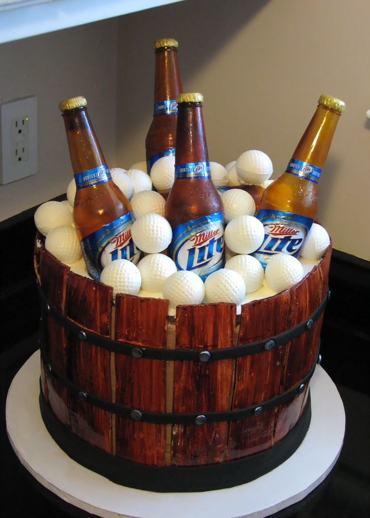 17 Best Images About Beer Cake On Pinterest Bottle