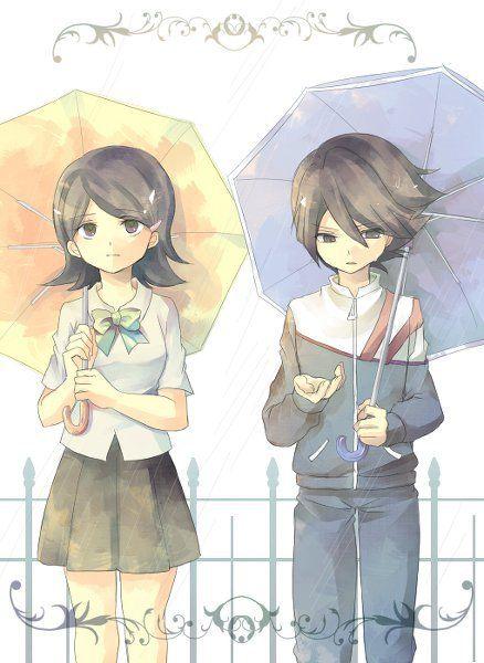 Aki Kino & Ichinose Kazuya.