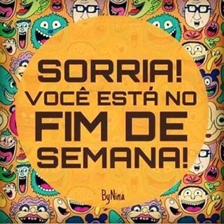 Bom dia! Bom fim de semana!!! #sabado #domingo #fimdesemana #blogchegadebagunca #chegadebagunca #aproveiteofimdesemana