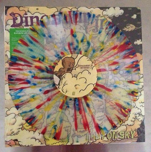 Dinosaur Jr RARE Tour Only Splatter I Bet on Sky Vinyl Record LP New J Mascis   eBay