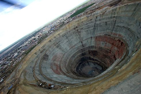 Russia. Mirny mine in 2004.