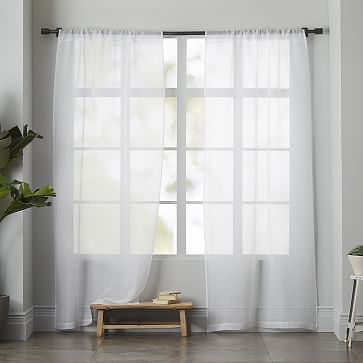 1000+ images about Curtains on Pinterest | Cotton canvas, Sheer ...