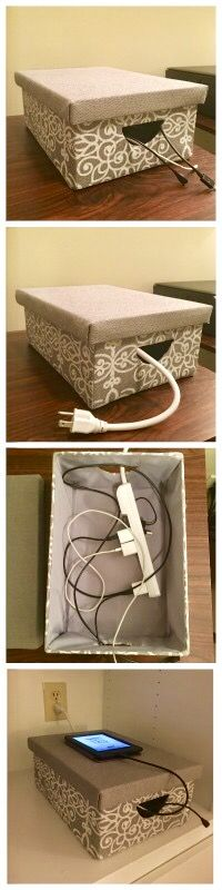 Best 25 charger organization ideas on pinterest phone Charger cord organizer diy