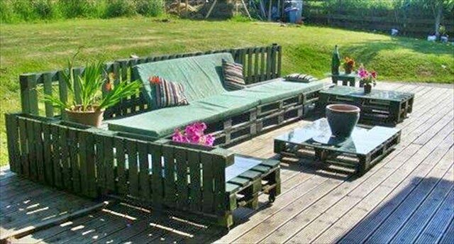 PATIO FURNITURE DECORATION ORIGINAL DO IT YOURSELF