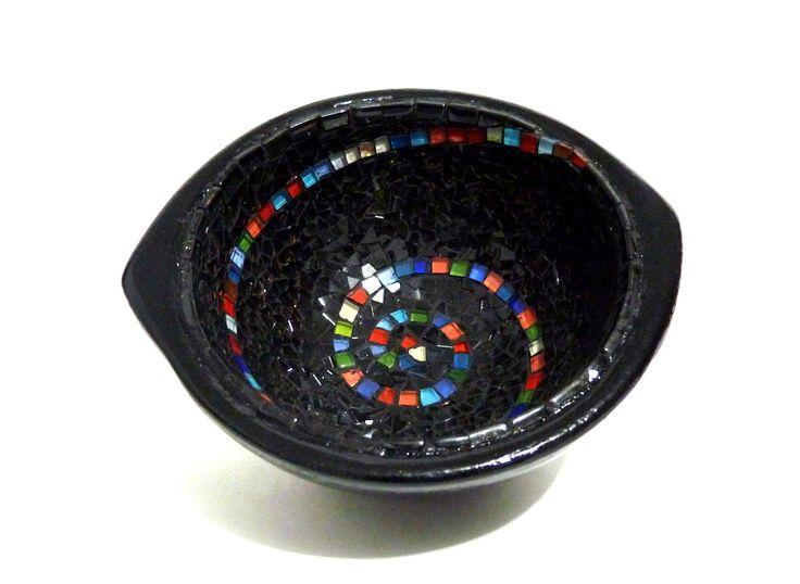 chamba con mosaico