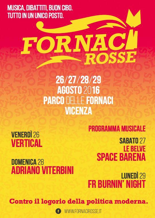Fornaci Rosse 2016, manifesto // art direction