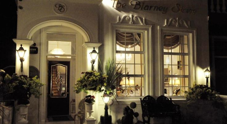 The Blarney Stone Guesthouse Cork This Victorian guest house is 5 minutes from Cork city centre and opposite the River Lee and university grounds. The Blarney Stone and Castle are a 10-minute drive away.
