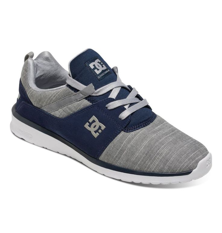 Zapatillas/Sneakers/Mens DC Shoes Heatthrow SE Heather Grey/Navy ADYS700073