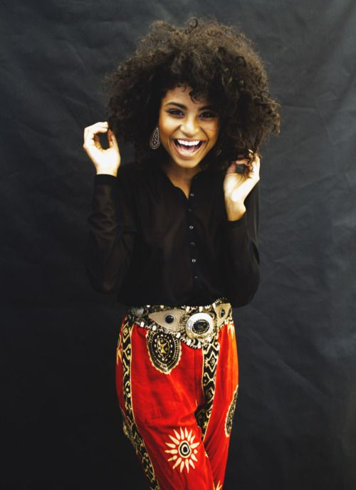 Adorable. The hair, and those pants, and that belt.