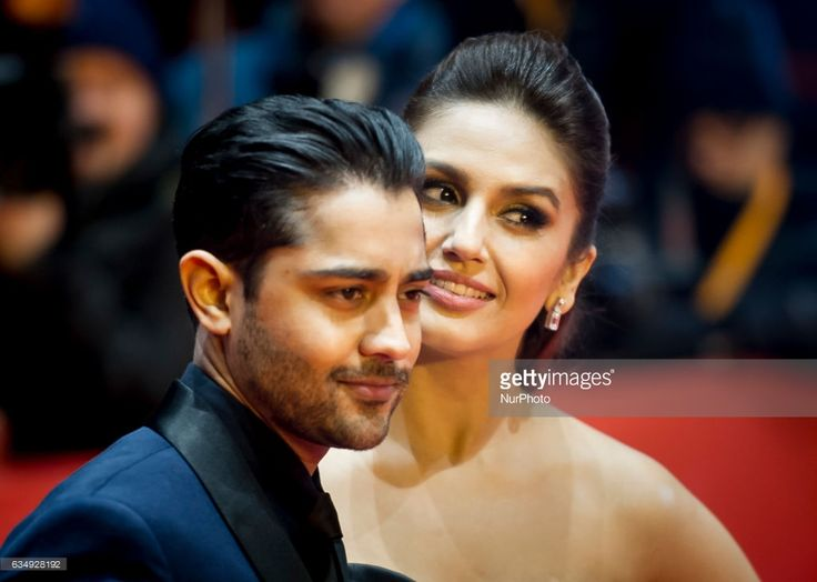 Actor Manish Dayal and Huma Qureshi attends the Viceroys House photocall during the 67th Berlinale International Film Festival Berlin at Grand Hyatt Hotel on February 12, 2017 in Berlin, Germany.