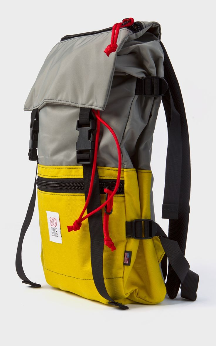 Topo Designs Rover Pack Yellow/Silver